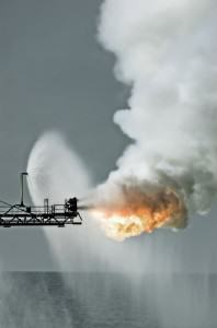 well test flaring