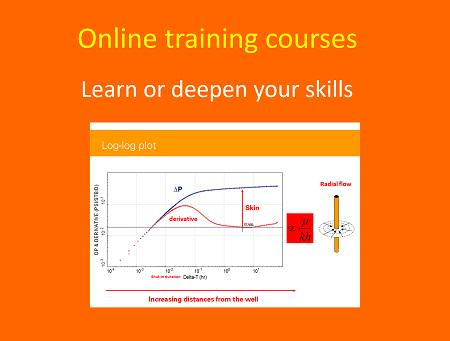 online training courses in well testing and reservoir engineering